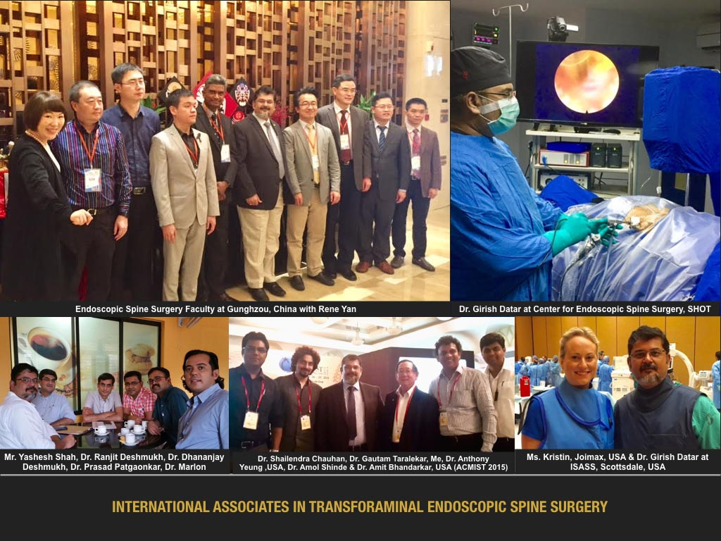 International Associates In Transforaminal Endoscopic Spine Surgery