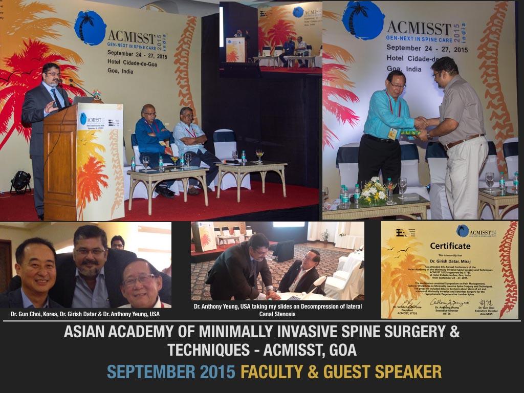 September 2015 Faculty & Guest Speaker